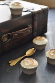 Cupcakes de limón merengados