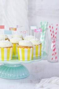 Cupcakes tres leches y coco