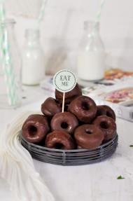 Cookies de chocolate rellenas de nutella