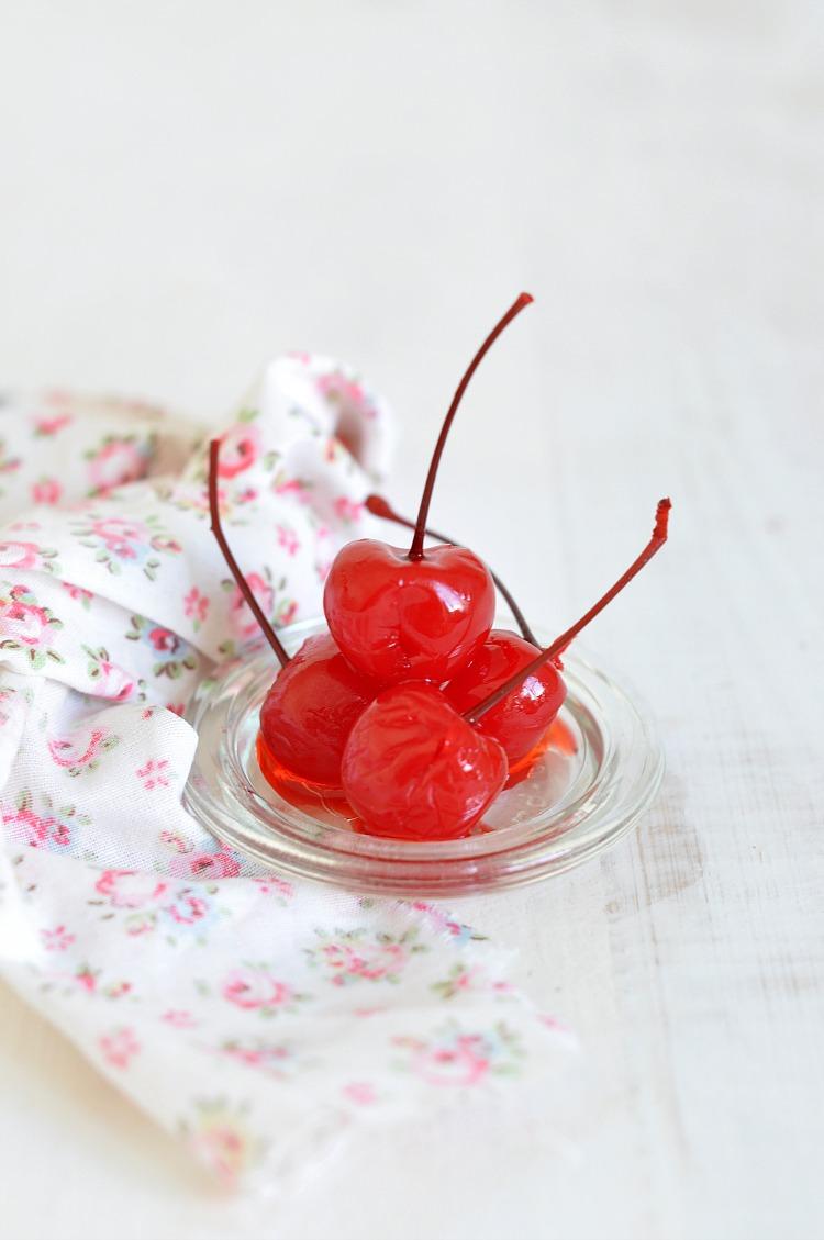 cerezas maraschino