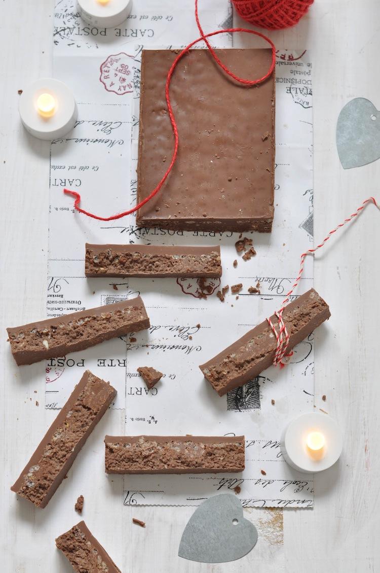 turron de chocolate casero