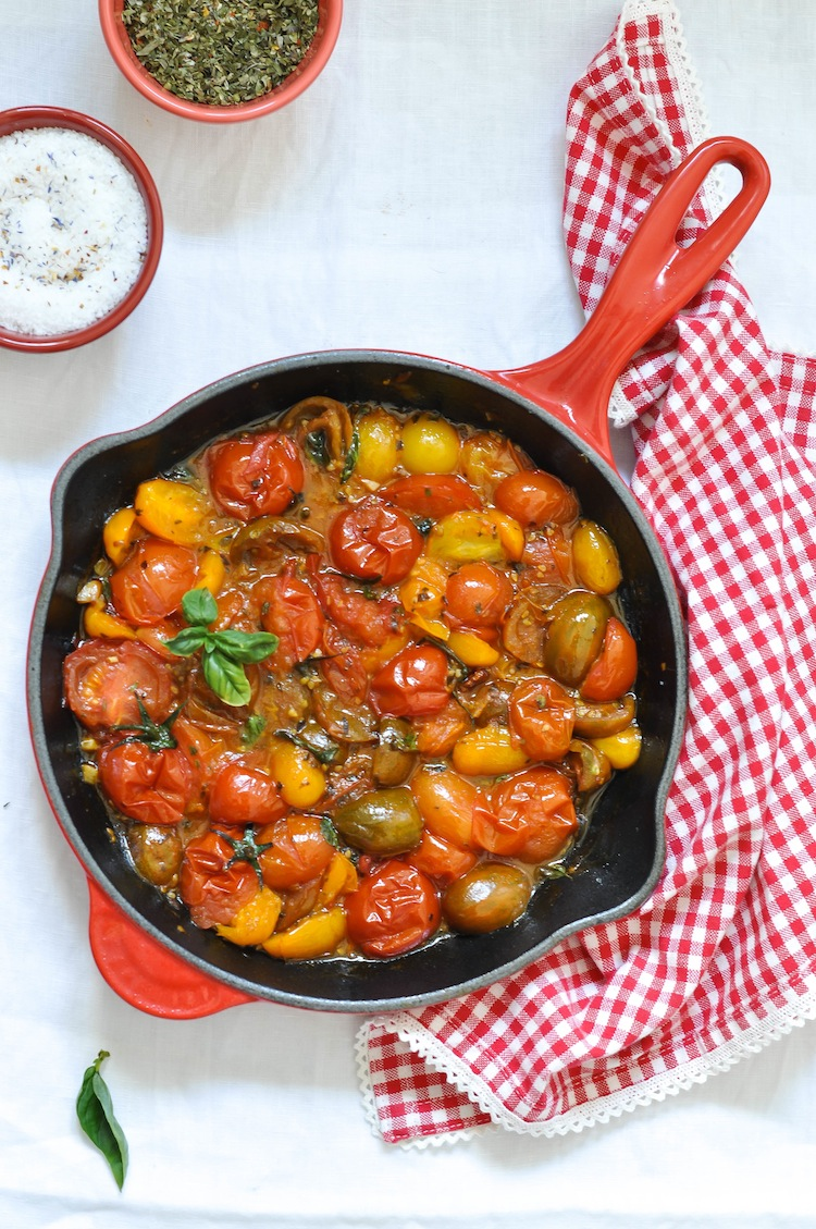 tatin de tomates cherry