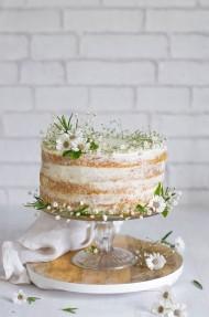 Tarta de zanahoria (Naked cake)