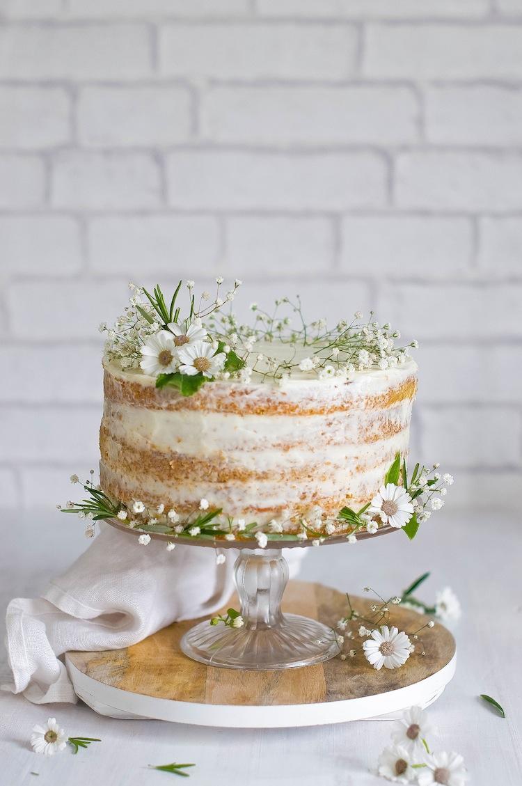 Tarta de zanahoria naked cake