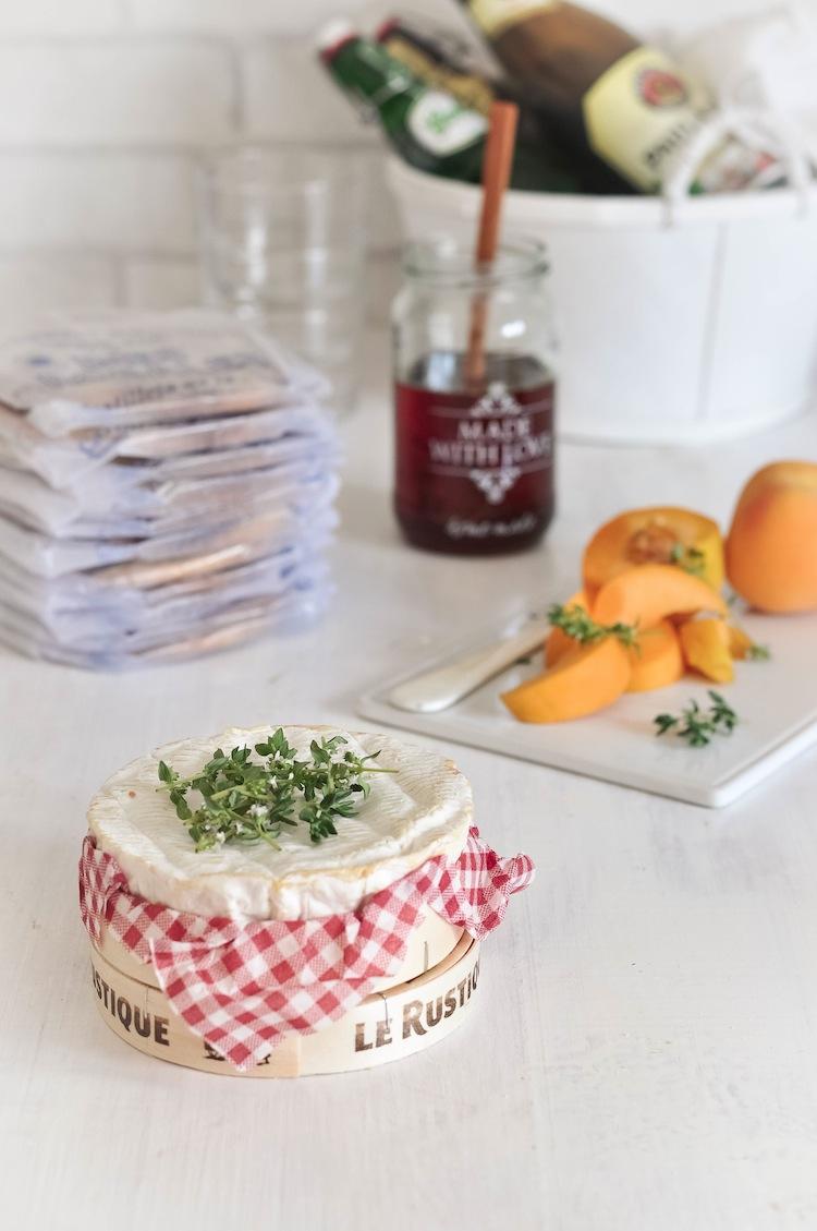 camembert cono tomillo