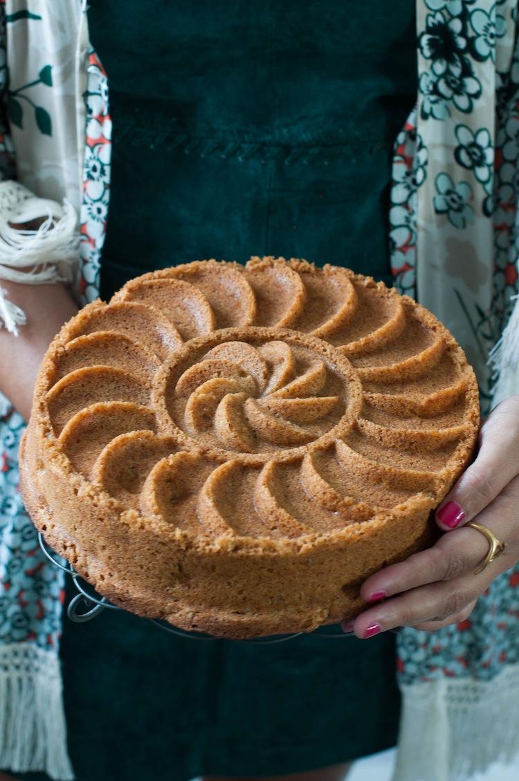 tarta de manzanas molde nordicware