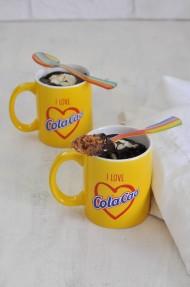 Mug cake de Cola Cao y nueva web de Cola Cao