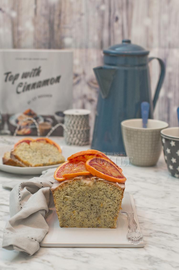 loaf de naranja y amapola