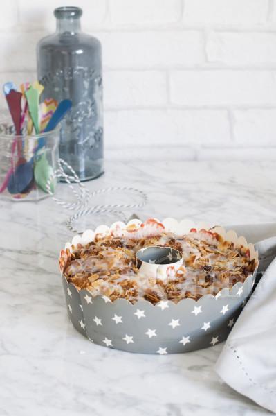 coffe cake de ruibarbo