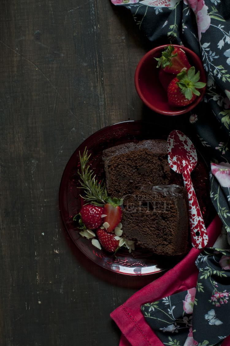 bundt cake triple chocolate cenital