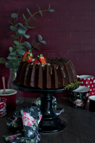 Bundt cake triple chocolate